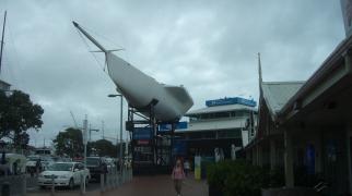 Skrov fran Världshavs seglare