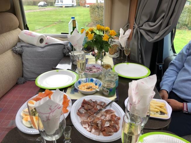 Klart för påsk maten