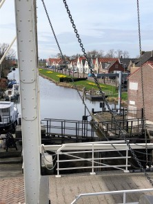 Bild från Slussen mot kanalen
